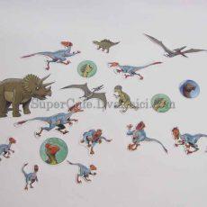 Наліпки Динозаври