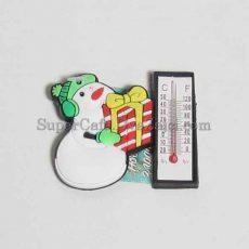 Магніт з термометром Сніговик #2