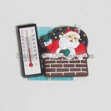 Магніт з термометром Санта Клаус #2