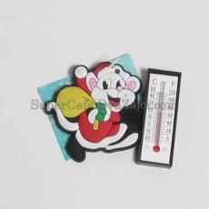 Магніт з термометром Миша