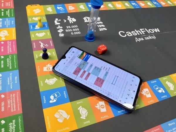 Бізнес-гра Cash Flow Два зайці